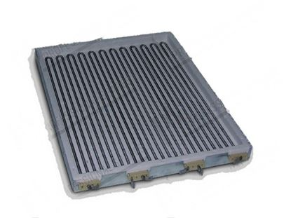Picture of Infrared hot plate 340x432x32 mm 9000W 400V* for Zanussi, Electrolux Part# 6158