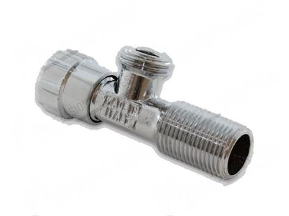 """Picture of Angle valve 1/2""""-1/2"""" for Convotherm Part# 6014003"""