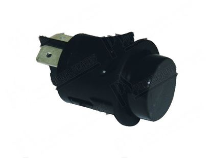 Picture of Black double-pole switch  25 mm for Giorik Part# 6032049
