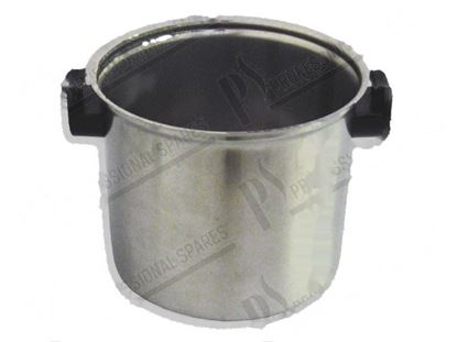Picture of 5.5 litre s/s bowl for cutter-mixer K55 for Zanussi, Electrolux Part# 032542, 0KI989, 17254, 4163, 653088