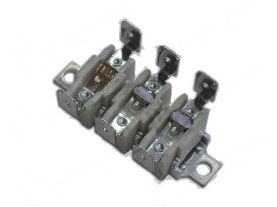 Picture of Bi-metal thermostats klixon triplo 125/150/60 for Zanussi, Electrolux Part# 0KL022