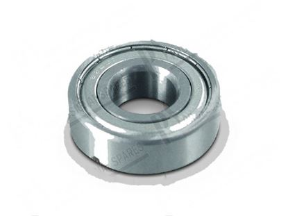 Picture of Ball bearing  15x35x11 mm for Elettrobar/Colged Part# 314002, REB314002