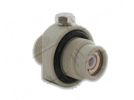 Picture of Adapter with non-return valve for Meiko Part# 9011022, 9609359