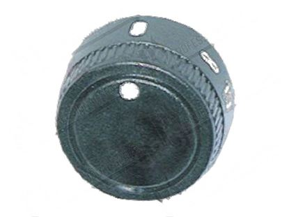 Picture of Black knob  39 mm for Tecnoinox Part# RC00006301
